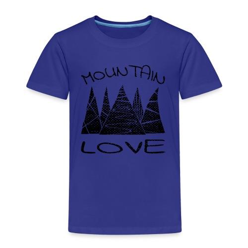 Outdoor Berge Mountain Love - Kinder Premium T-Shirt