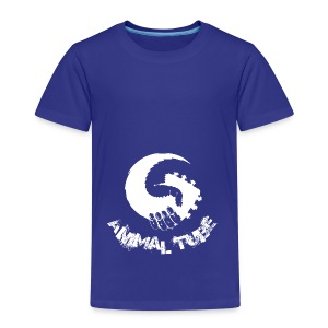 Animal Tube Hand White - Kinder Premium T-Shirt