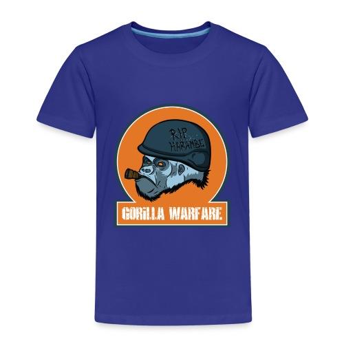Gorilla warfare - Kinder Premium T-Shirt