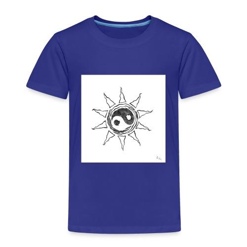 sole yin yang - Maglietta Premium per bambini