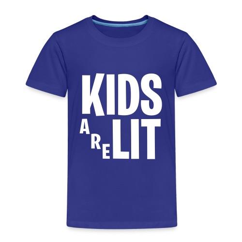 Kids Are Lit - Kinderen Premium T-shirt