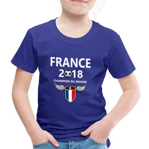 Champion du monde france 2018 T-shirt - Kinderen Premium T-shirt