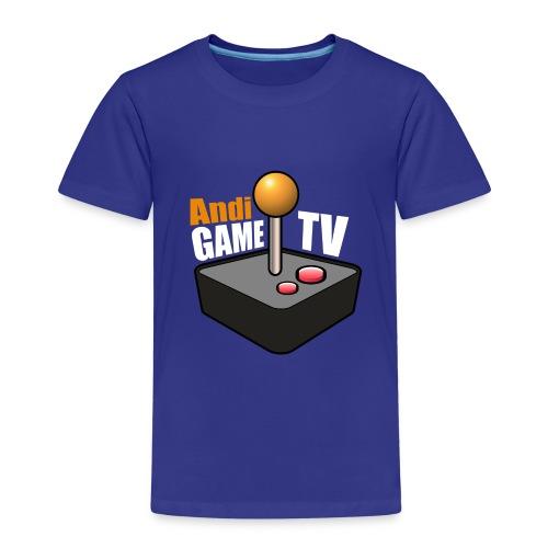Andi GAME TV (White) - Kinder Premium T-Shirt