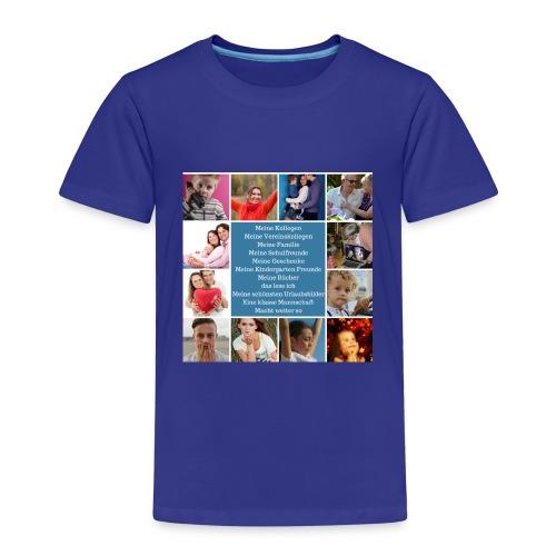 Motiv 4 Design Bild verändern siehe unten - Kinder Premium T-Shirt