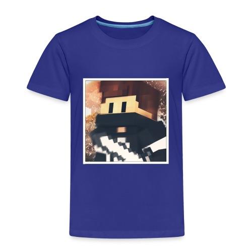 Minecraft logo - Kinder Premium T-Shirt