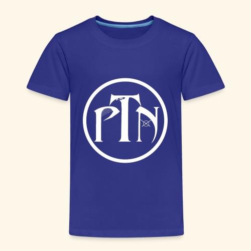 PTN-Music Logo Weiss - Kinder Premium T-Shirt