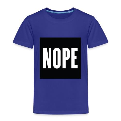 The Nope Shirt - Kids' Premium T-Shirt
