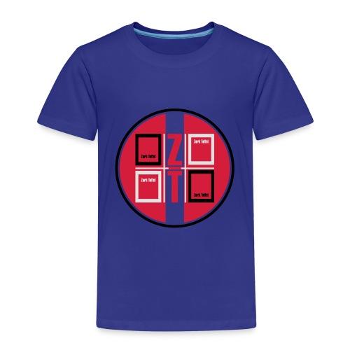 zork Toffel logo 017 - Kinder Premium T-Shirt