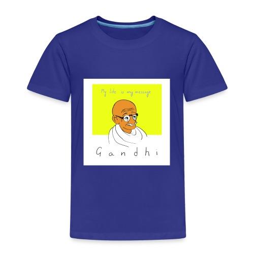 Gandhi - Kinder Premium T-Shirt