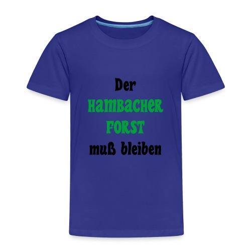 Hambacher Forst - Kinder Premium T-Shirt