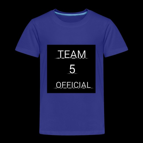Team5 official 1st merchendise - Kids' Premium T-Shirt
