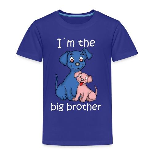 I m the Big Brother puppy - Kids' Premium T-Shirt