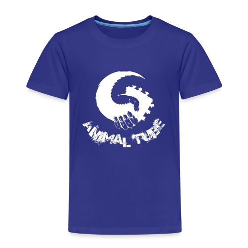 Animal Tube Hand White - Kinder Premium T-Shirt