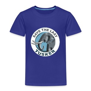 Save The Last Tusker - Kinder Premium T-Shirt