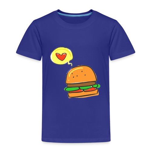 Love Burger - Kinder Premium T-Shirt