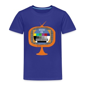 In the Zone TV colours template - Camiseta premium niño