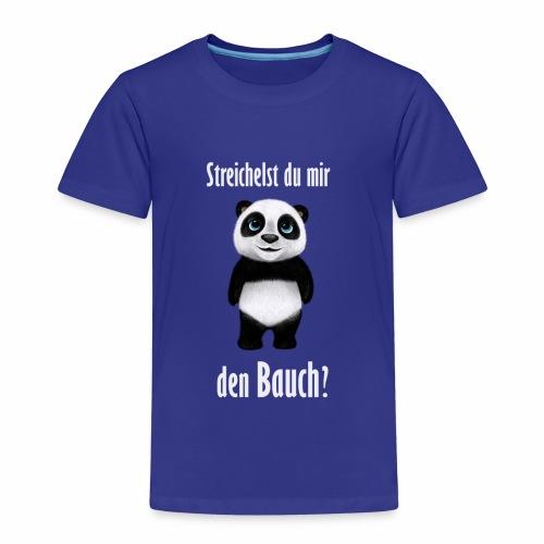 Panda Bauch - Kinder Premium T-Shirt