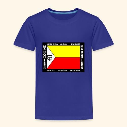 Drapeau des marquises - T-shirt Premium Enfant