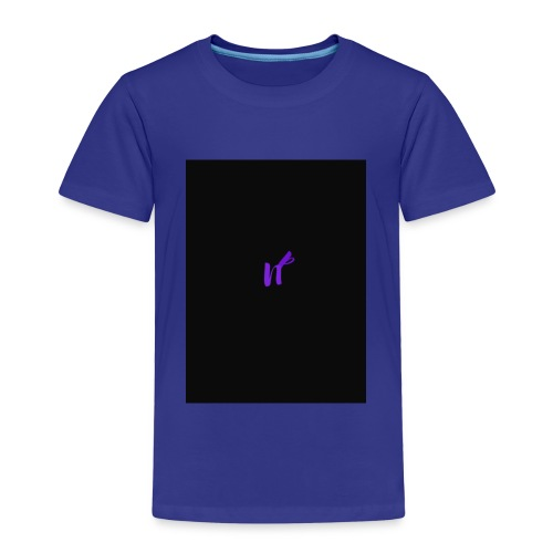 purple funky - Premium T-skjorte for barn