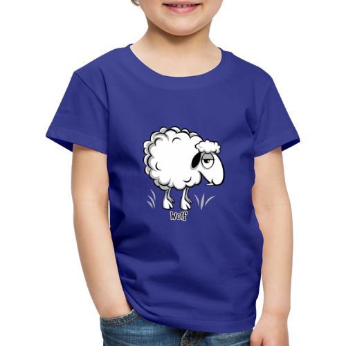 10-47 WOLF SHEEP- SUSI LAMMAS TUOTTEET - Lasten premium t-paita