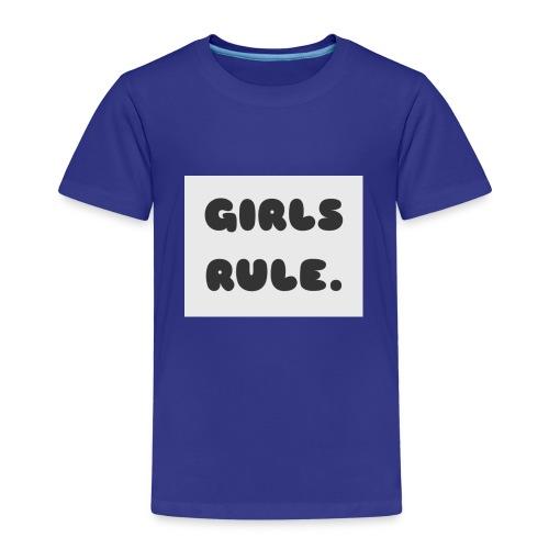 Girls Rule - Kids' Premium T-Shirt