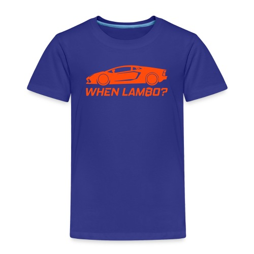 CryptoFR When lambo? - T-shirt Premium Enfant