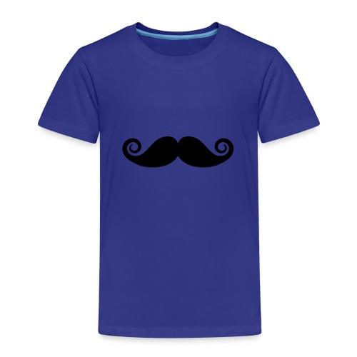 mustache - Kinderen Premium T-shirt