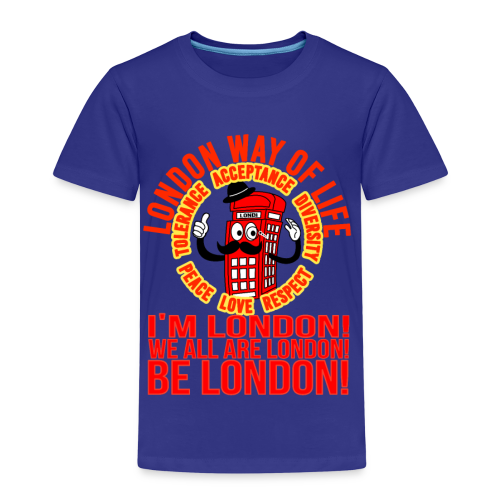 Londi London Mascot Design No 10 - Kids' Premium T-Shirt