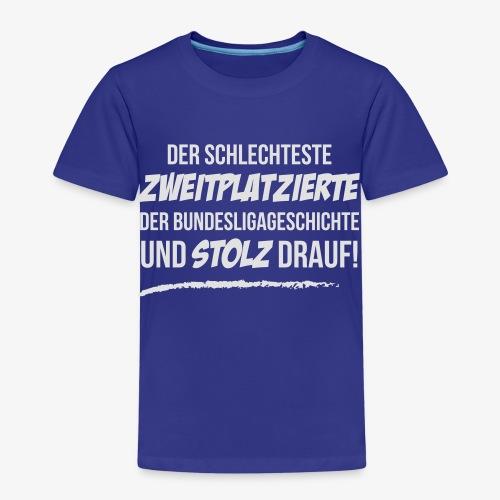 Zweiter und stolz drauf! - Kinder Premium T-Shirt