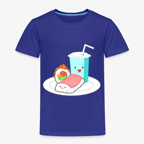 Happy Sushi - Kinderen Premium T-shirt