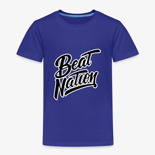 Logo Officiel Beat Nation Noir - Kinder Premium T-Shirt