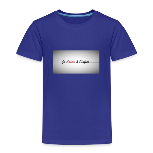 je taime à l'infini - T-shirt Premium Enfant