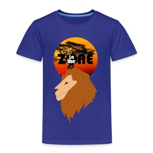 In the Zone Lion - Camiseta premium niño