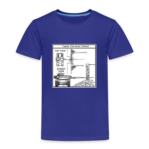 WOT War tactic, tank shot - Kids' Premium T-Shirt