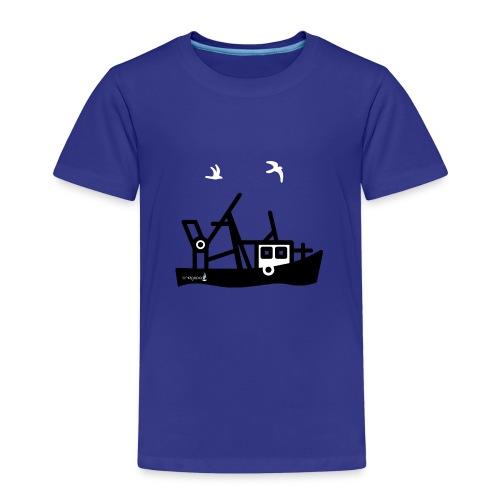 bridgeport cutter logo - Kinder Premium T-Shirt
