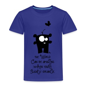 aMAziNg wOrLd*** - Kinder Premium T-Shirt