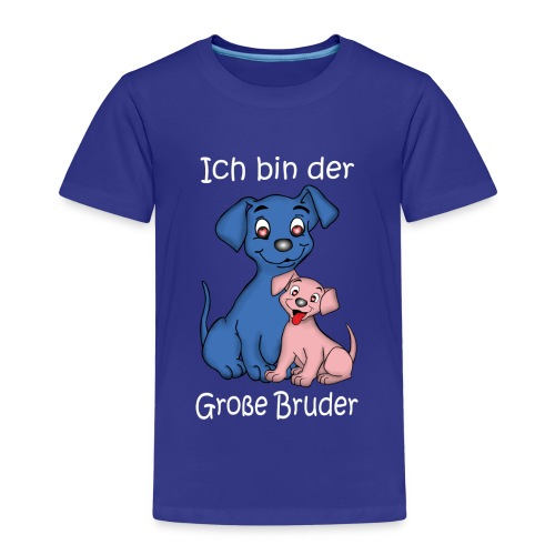 Ich Bin Der Grosse Bruder Puppy - Kids' Premium T-Shirt
