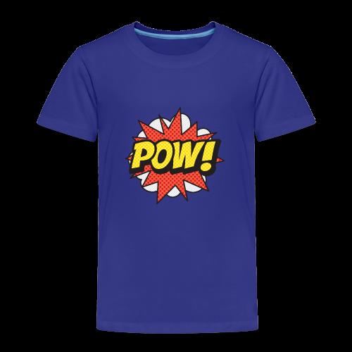 ONOMATOPOEIA. Pow! - Kids' Premium T-Shirt