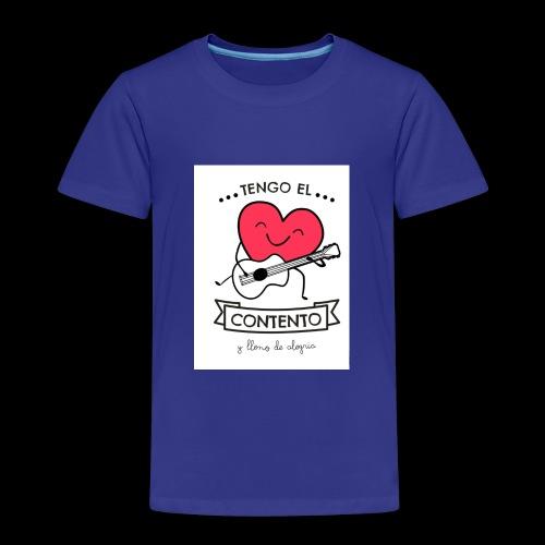 Tengo el corazón contento - Camiseta premium niño