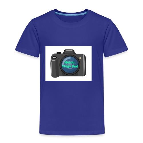 Melvin vlogs that merch - Kids' Premium T-Shirt
