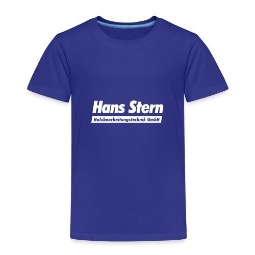 Hans Stern Logo - Kinder Premium T-Shirt