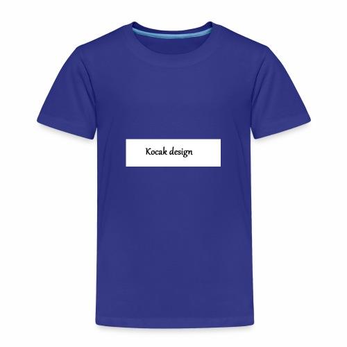 Kocak design - Børne premium T-shirt