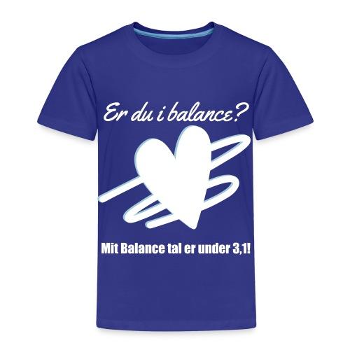 I Balance Design - Børne premium T-shirt