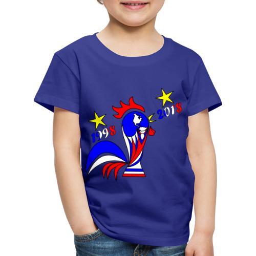 coupe du monde football 2018 mondial France 2018 - T-shirt Premium Enfant