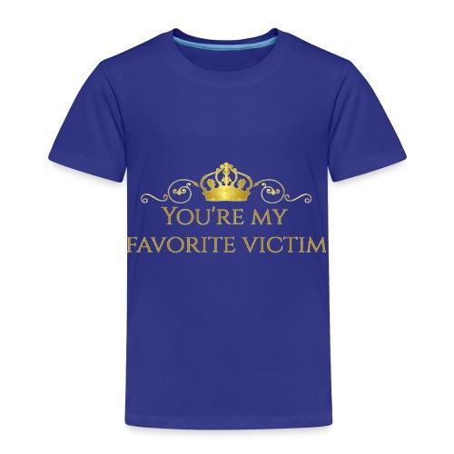 Favorite Fashion Victims Logo - Kinderen Premium T-shirt