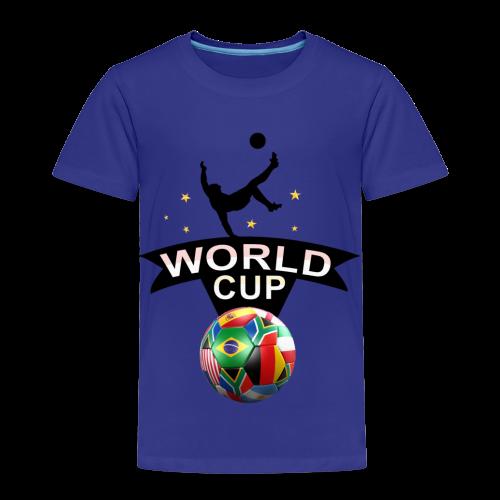 Fußball Design - Kinder Premium T-Shirt