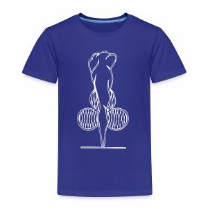 Riihimäen Erätytöt ry logo - Lasten premium t-paita