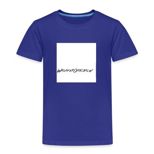 Walaker Official klær - Premium T-skjorte for barn