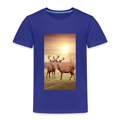 Hirschwiese - Kinder Premium T-Shirt