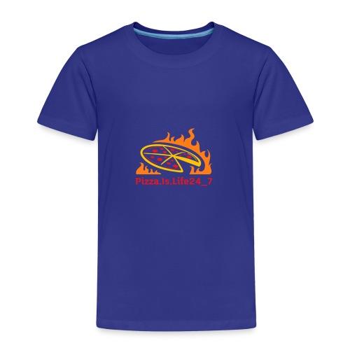 Pizza Logo - Kinder Premium T-Shirt